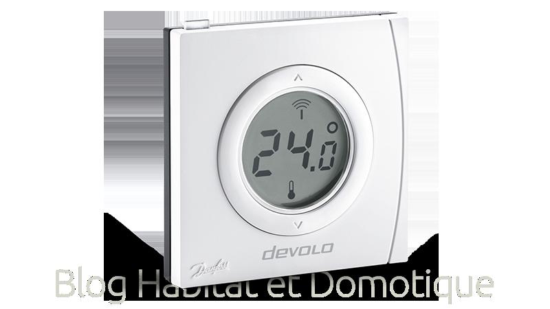 Thermostat ambiance radiateur Devolo 05 - Présentation du thermostat d'ambiance et de radiateur intelligent Devolo