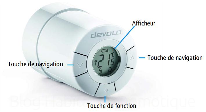 Thermostat ambiance radiateur Devolo 09 - Présentation du thermostat d'ambiance et de radiateur intelligent Devolo