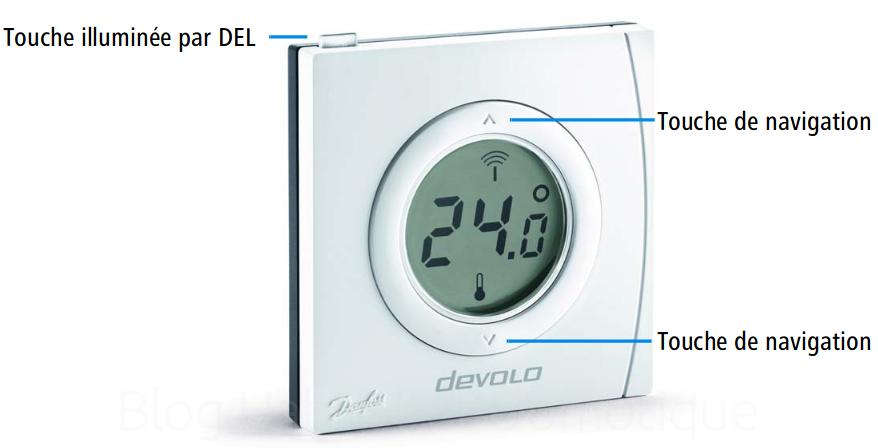 Thermostat ambiance radiateur Devolo 15 - Présentation du thermostat d'ambiance et de radiateur intelligent Devolo