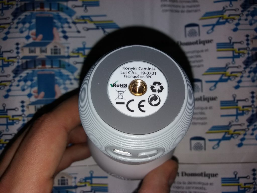 Caméra Konyks Camini Presentation 03 1024x768 - Test de la caméra de surveillance Konyks Camini+
