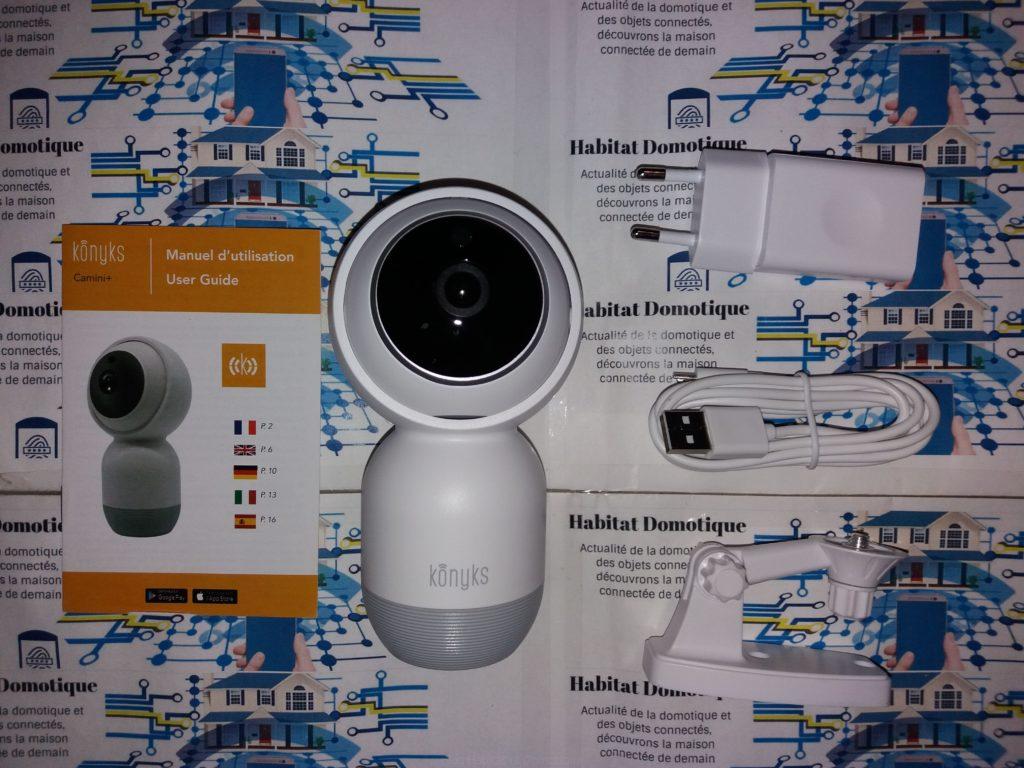 Caméra Konyks Camini Presentation 06 1024x768 - Test de la caméra de surveillance Konyks Camini+