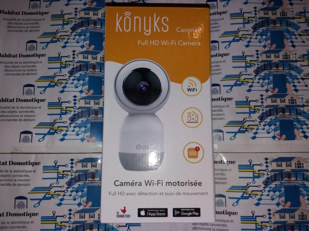 Caméra Konyks Camini Presentation 08 1024x768 - Test de la caméra de surveillance Konyks Camini+