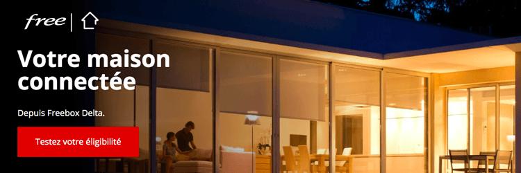 Offres Domotique Free - Présentation des offres domotique des opérateurs pour une maison connectée