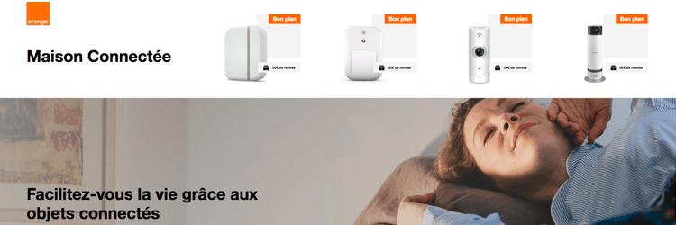 Offres Domotique Orange - Présentation des offres domotique des opérateurs pour une maison connectée