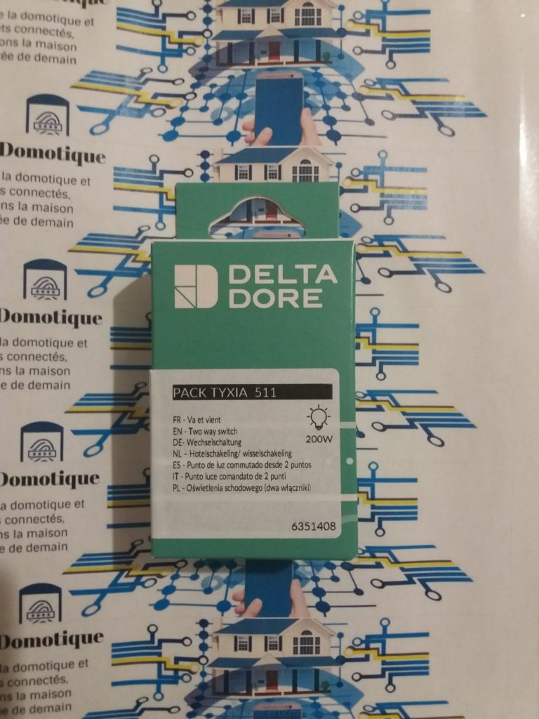 Pack TYXIA 511 Delta Dore