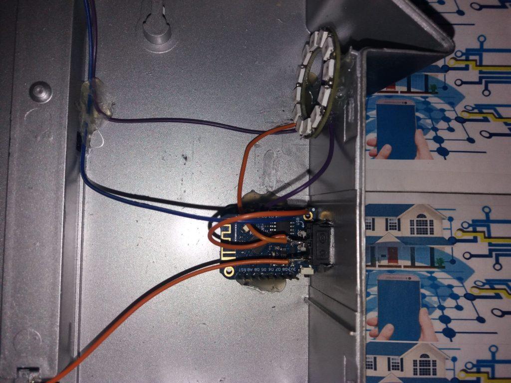 Panneau signalétique connecté 02 1024x768 - Fabriquer un panneau signalétique connecté