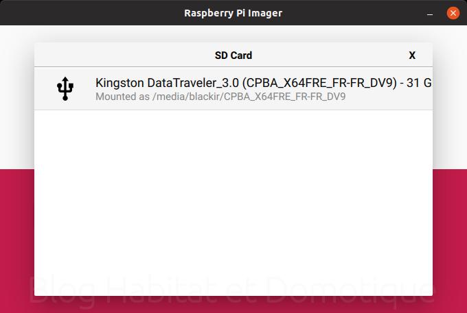 Raspberry Pi Imager 01 - Installer son Raspberry avec Raspberry Pi Imager