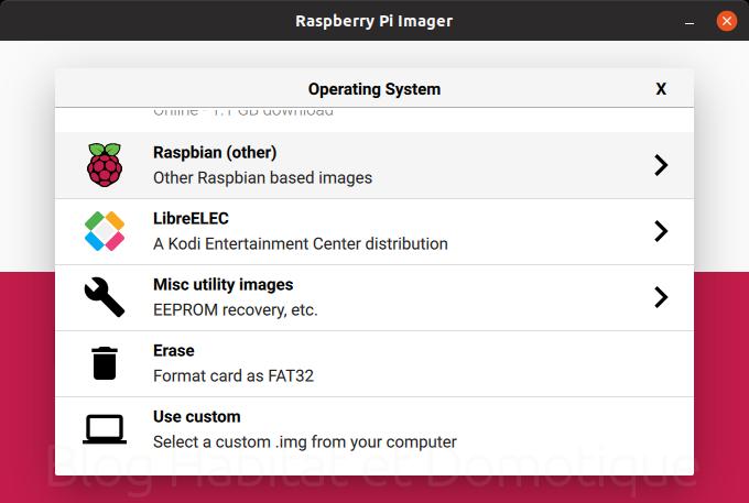 Raspberry Pi Imager 02 - Installer son Raspberry avec Raspberry Pi Imager