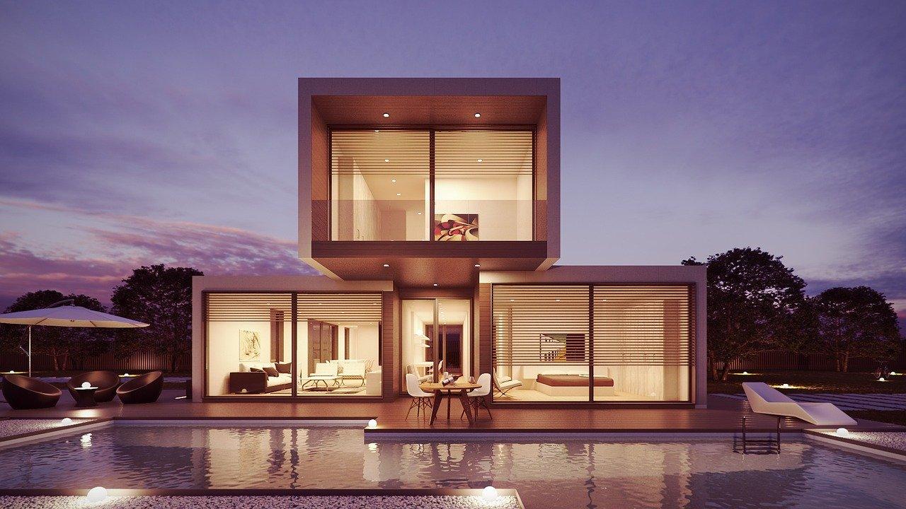 une maison confortable