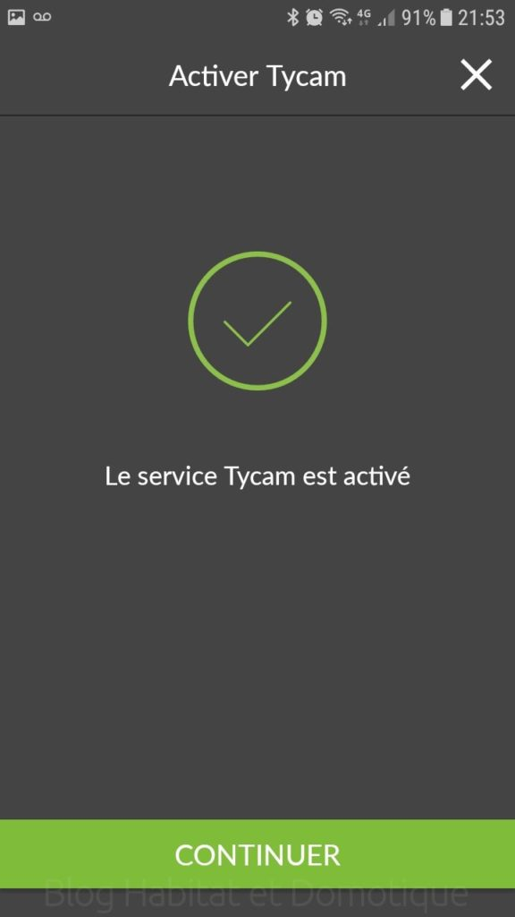 Installation Caméra TYCAM 1100 07 576x1024 - Test de la caméra intérieure TYCAM 1100