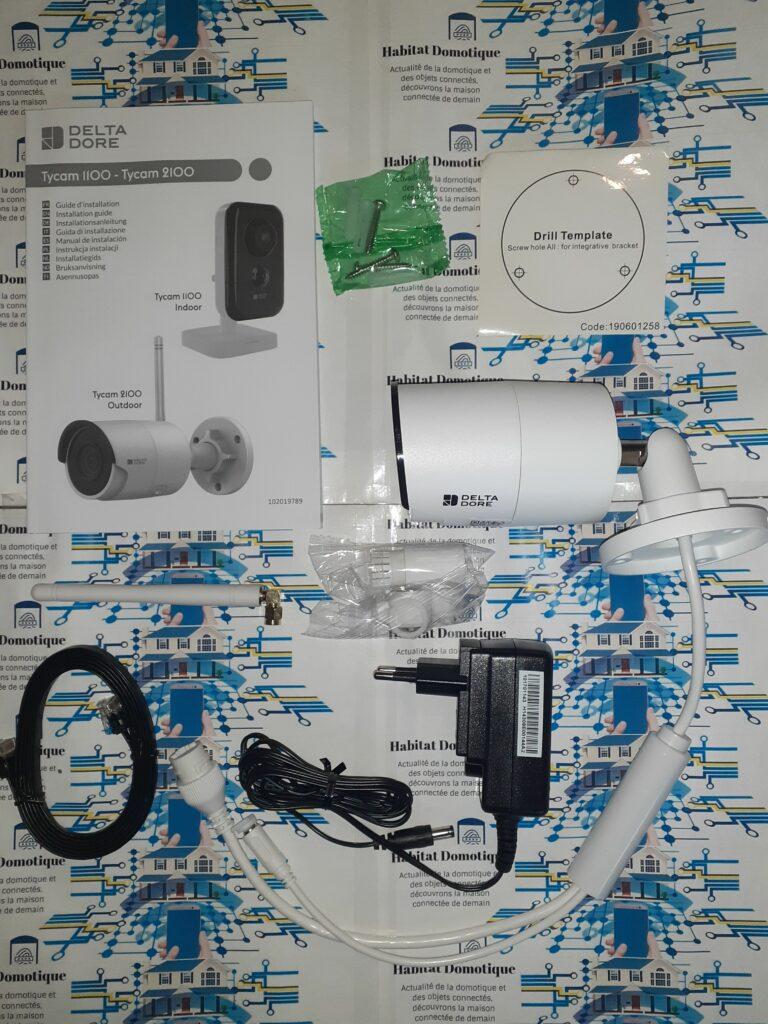 Tydom2100 03 768x1024 - Test de la caméra extérieure Tycam 2100
