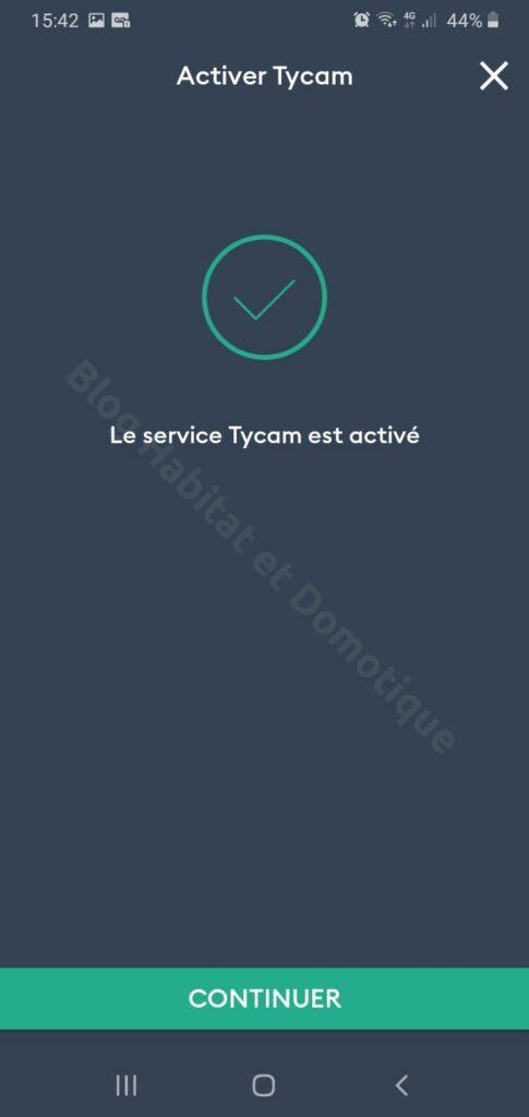 Tydom2100 Installation 08 485x1024 - Test de la caméra extérieure Tycam 2100