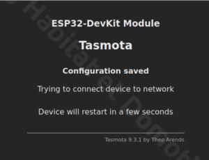 Tasmota ESP32 Camera 05 300x230 - ESP32 Caméra et Tasmota